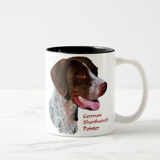 German Shorthaired Pointer Gifts Two-Tone Coffee Mug