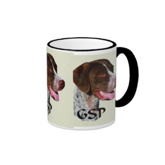 German Shorthaired Pointer Gifts Ringer Coffee Mug