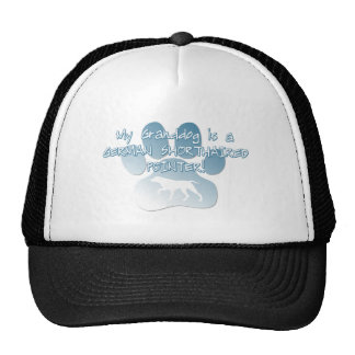 German Shorthaired Pointer Granddog Trucker Hat