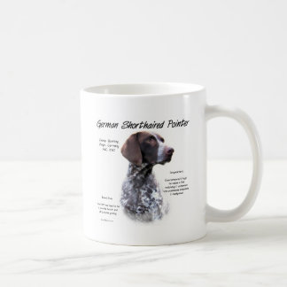 German Shorthaired Pointer History Design Coffee Mug