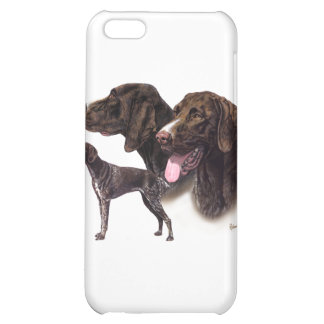German Shorthaired Pointer iPhone 5C Covers