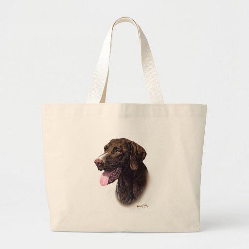 German Shorthaired Pointer Jumbo Tote Bag