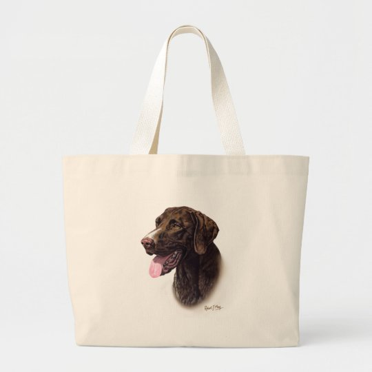 German Shorthaired Pointer Large Tote Bag