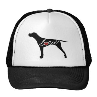German Shorthaired Pointer Love Mesh Hats