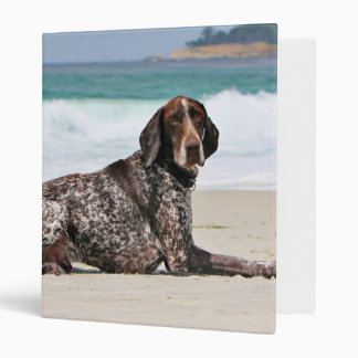 German Shorthaired Pointer - Luke - Riley 3 Ring Binder