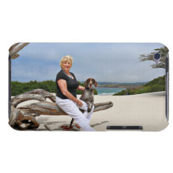 German Shorthaired Pointer - Luke - Riley Case-Mate iPod Touch Case