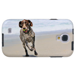 German Shorthaired Pointer - Luke - Riley Galaxy S4 Case