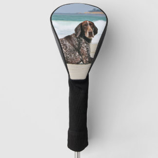 German Shorthaired Pointer - Luke - Riley Golf Head Cover