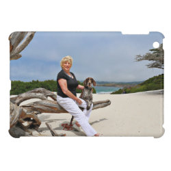 Case Savvy iPad Mini Glossy Finish Case with German Shorthaired Phone Cases design