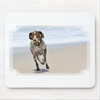 German Shorthaired Pointer - Luke - Riley Mouse Pad