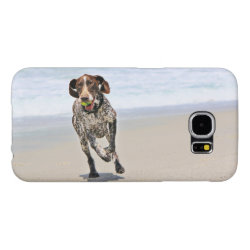 Case-Mate Barely There Samsung Galaxy S6 Case with German Shorthaired Phone Cases design