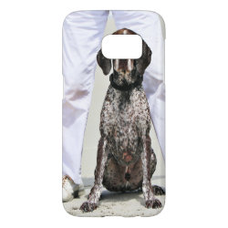 Case-Mate Barely There Samsung Galaxy S7 Case with German Shorthaired Phone Cases design