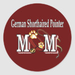 german shorthaired pointer mom gifts stickers
