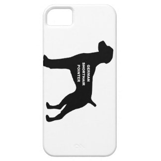 german shorthaired pointer name silhouette iPhone SE/5/5s case