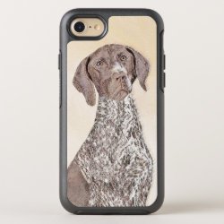 OtterBox Apple iPhone 7 Symmetry Case with German Shorthaired Phone Cases design