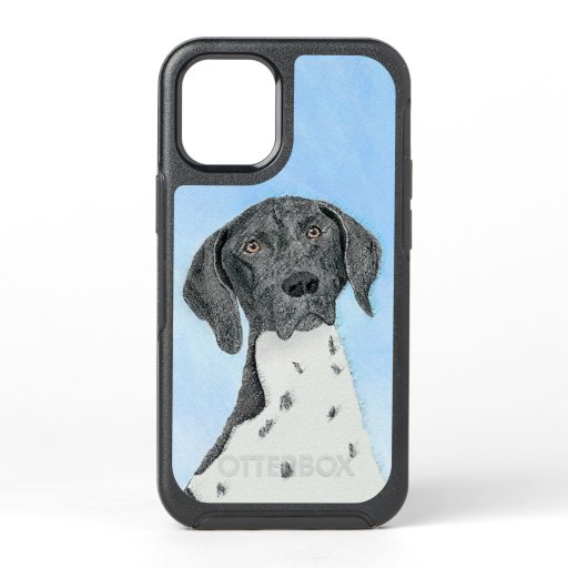 German Shorthaired Pointer Painting - Original Art OtterBox Symmetry iPhone 12 Mini Case