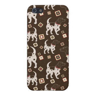 German Shorthaired Pointer Pattern iPhone SE/5/5s Cover