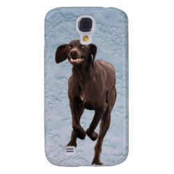 Case-Mate Barely There Samsung Galaxy S4 Case with German Shorthaired Phone Cases design