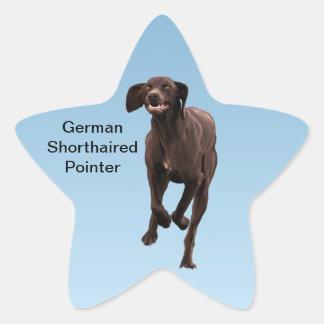 German Shorthaired Pointer Pet-lover Star Sticker