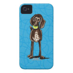 German Shorthaired Pointer Playtime iPhone 4 Case