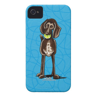 German Shorthaired Pointer Playtime iPhone 4 Case-Mate Case