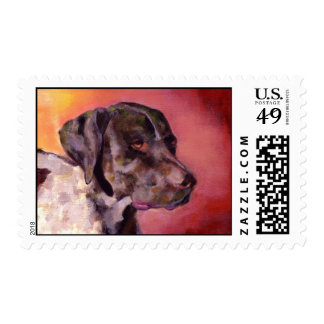 German Shorthaired Pointer Postage