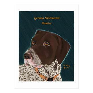 German Shorthaired Pointer postcard