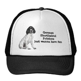 German Shorthaired Pointer Puppy Hat
