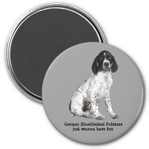 German Shorthaired Pointer Puppy Magnet