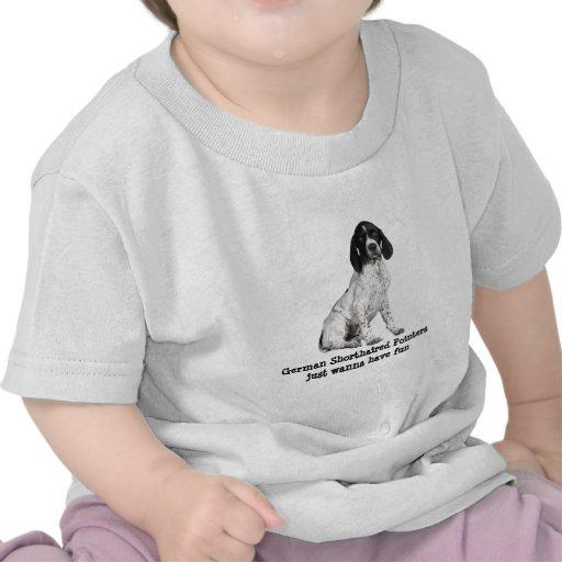 German Shorthaired Pointer Puppy Toddler Shirt