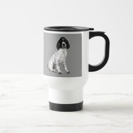 German Shorthaired Pointer Puppy Travel Mug