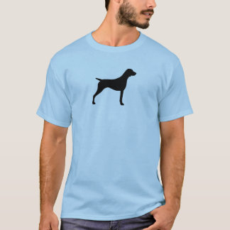 German Shorthaired Pointer Silhouette T-Shirt