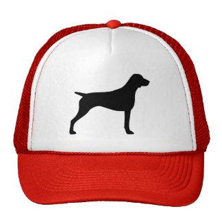 German Shorthaired Pointer Silhouette Trucker Hat