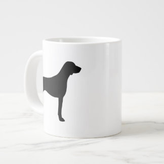German Shorthaired Pointer Silhouettes Giant Coffee Mug
