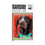 German Shorthaired Pointer Stamps
