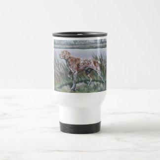 German Shorthaired Pointer travel mug gsp