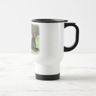 German Shorthaired Pointers 9J37D-09 Travel Mug