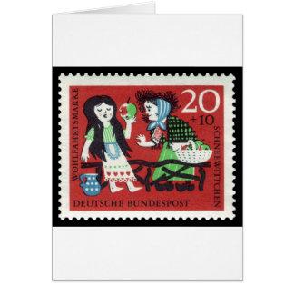 German Snow White Card