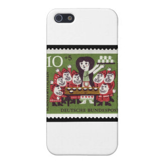 German Snow White Cover For iPhone SE/5/5s
