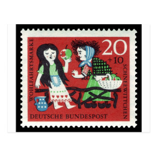 German Snow White Postcard