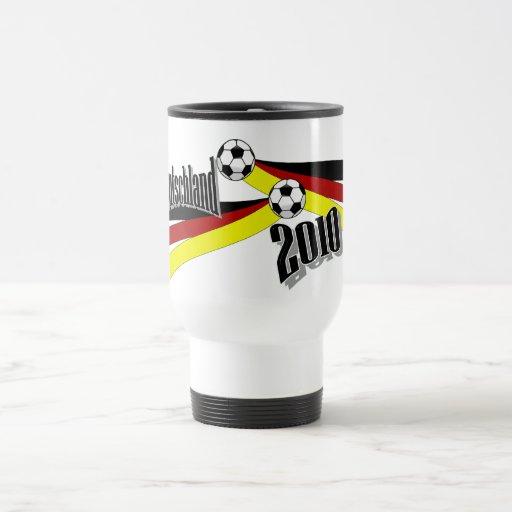 german soccer 15 oz stainless steel travel mug