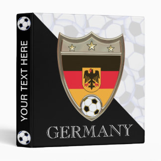 "German Soccer 1"" 3 Ring Binder"