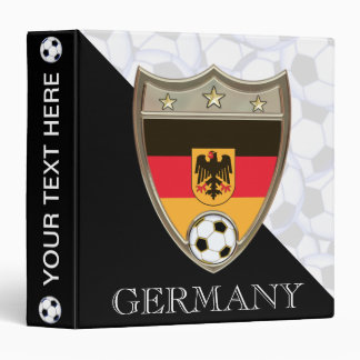 "German Soccer 1.5"" 3 Ring Binder"