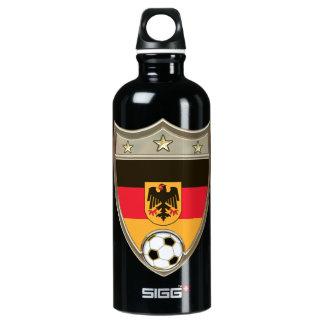 German Soccer 24oz. Water Bottle
