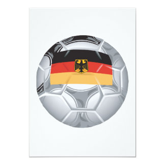 German Soccer Ball Card