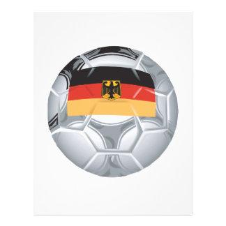 German Soccer Ball Flyers