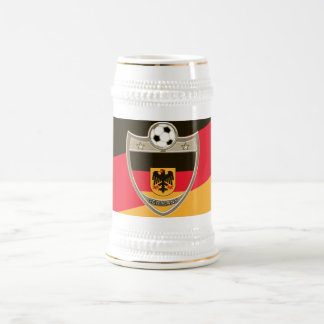 German Soccer Beer Stein