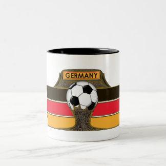 German Soccer Coffee Mug