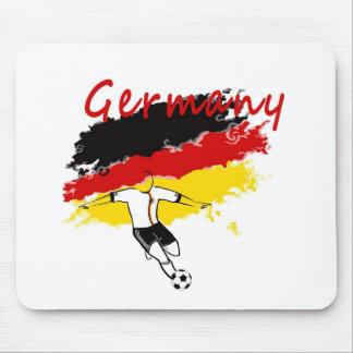 German Soccer Fans! Mouse Pad