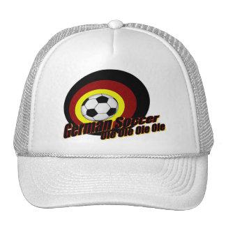 german soccer trucker hat